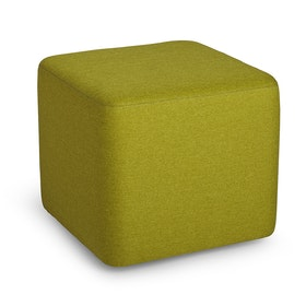 Green Block Party Lounge Ottoman,Green,hi-res