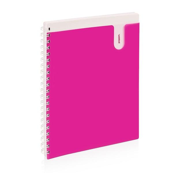 Pink 1-Subject Pocket Spiral Notebook,Pink,hi-res