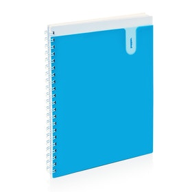 Pool Blue 1-Subject Pocket Spiral Notebook,Pool Blue,hi-res
