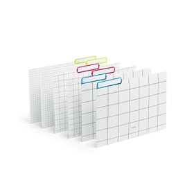 Assorted Grid File Folders, Set of 6,,hi-res