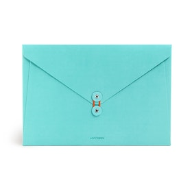 Aqua Soft Cover Folio,Aqua,hi-res