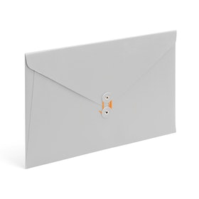 Light Gray Soft Cover Folio,Light Gray,hi-res