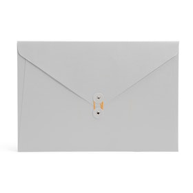 Light Gray Soft Cover Folio,Light Gray,hi-res