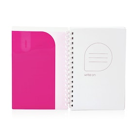 Pink Medium Pocket Spiral Notebook,Pink,hi-res