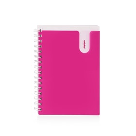 Pink Medium Pocket Spiral Notebook