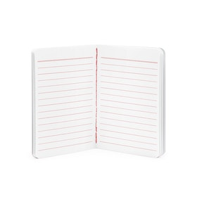 Red Mini Soft Cover Notebooks, Set of 3,Red,hi-res
