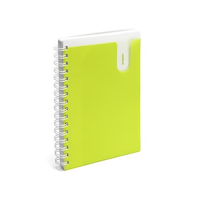 Lime Green Medium Pocket Spiral Notebook,Lime Green,hi-res