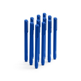 Cobalt Signature Ballpoint Pens w/ Blue Ink, Set of 12,Cobalt,hi-res