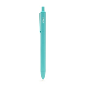 Aqua Retractable Ballpoint Pens, Set of 6,Aqua,hi-res