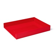 Red Single Letter Tray,Red,hi-res