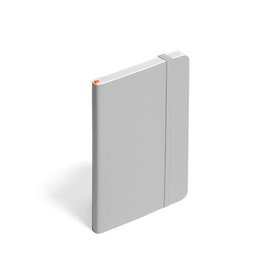 Light Gray Small Softcover Notebook,Light Gray,hi-res