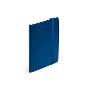 Navy Small Softcover Notebook,Navy,hi-res