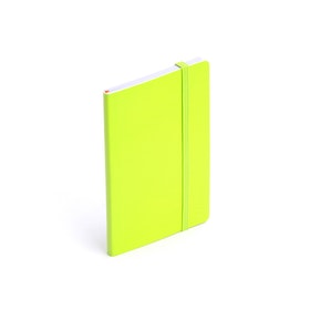 Lime Green Small Soft Cover Notebook,Lime Green,hi-res