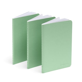 Mint Mini Soft Cover Notebooks, Set of 3,Mint,hi-res