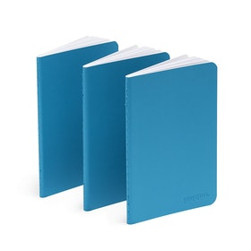 Pool Blue Mini Notebooks, Set of 3,Pool Blue,hi-res