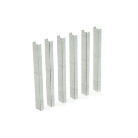 Silver Staples, Set of 1250