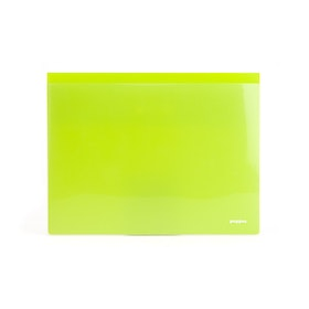Lime Green Tab Folio, Set of 3,Lime Green,hi-res