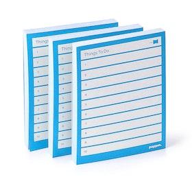 Pool Blue Task Pads, Set of 3,Pool Blue,hi-res