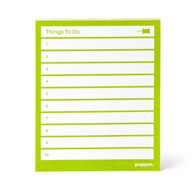 Lime Green Task Pads, Set of 3,Lime Green,hi-res