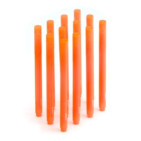 Orange Highlighters, Set of 12,Orange,hi-res