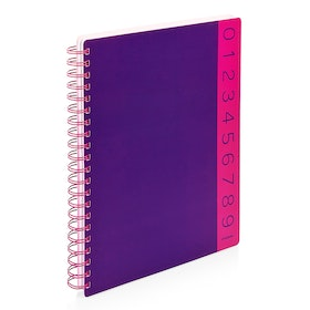Purple You Rule 3-Subject Notebook,Purple,hi-res