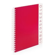 Red You Rule 1-Subject Spiral Subject Notebook,Red,hi-res