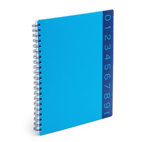 Pool Blue You Rule 1-Subject Spiral Subject Notebook,Pool Blue,hi-res