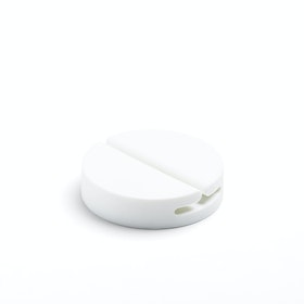 White Jumbo Cable Catch,White,hi-res