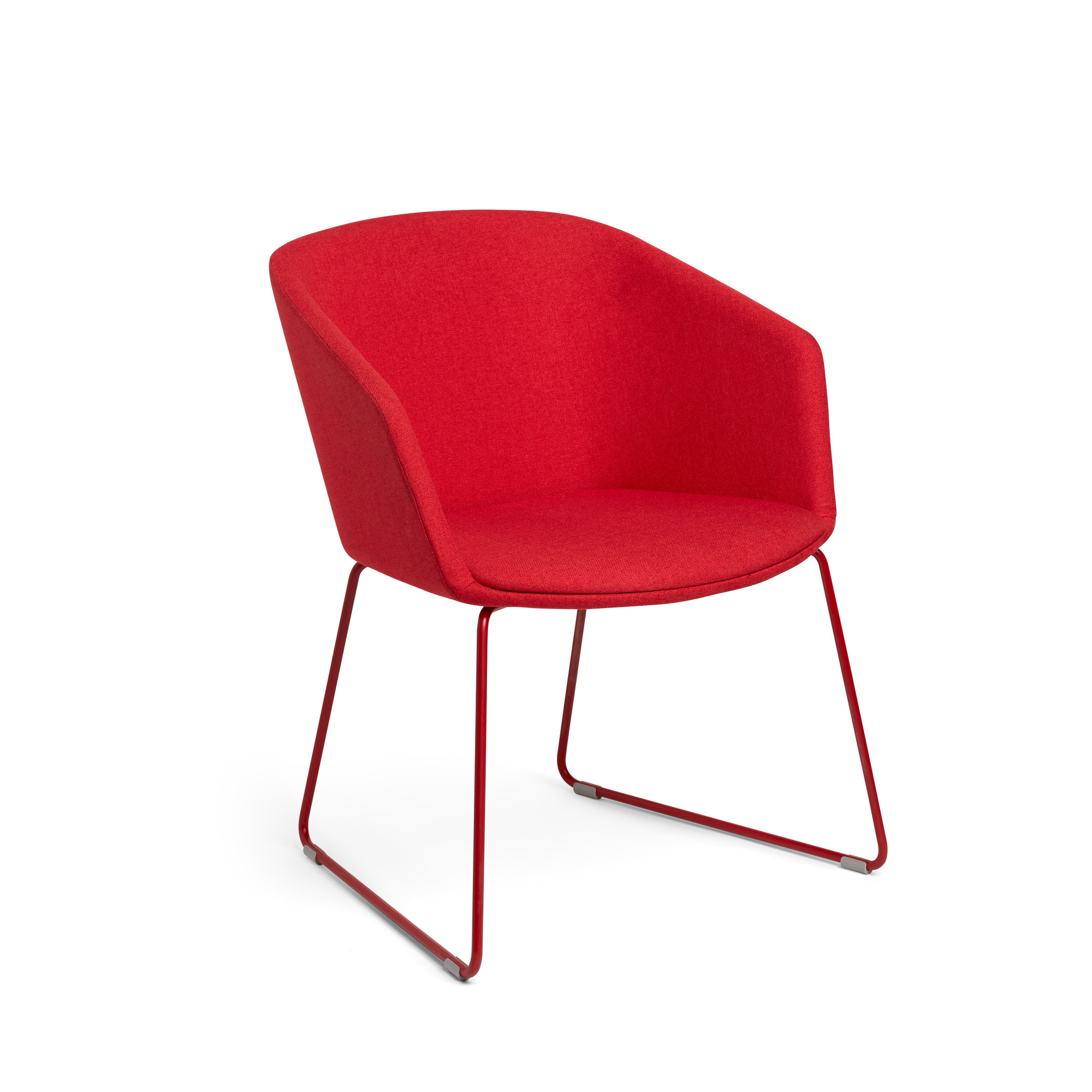 Red Pitch Sled Chair Chairs