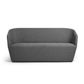 Dark Gray Pitch Sofa,Dark Gray,hi-res