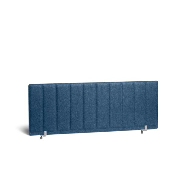 "Dark Blue Pinnable Privacy Panel, End Cap, 47"",Dark Blue,hi-res"