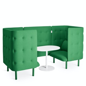 Leaf Green QT Chair Booth,Leaf Green,hi-res