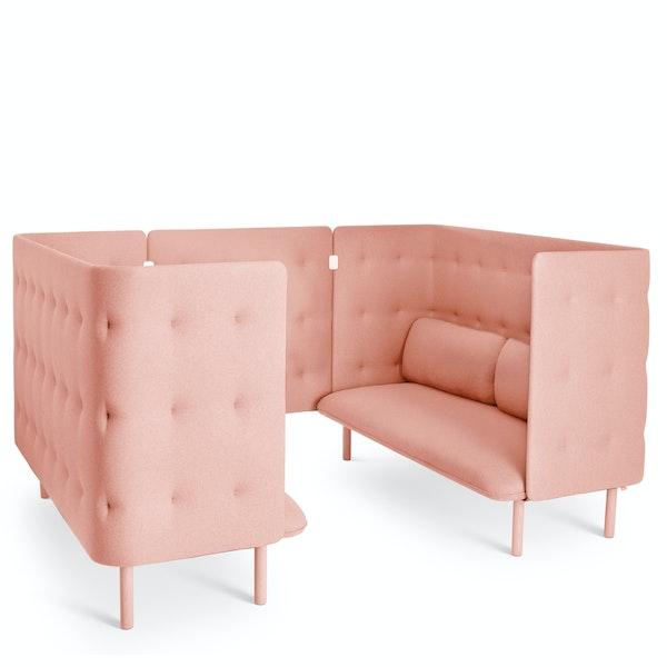 Blush QT Sofa Booth,Blush,hi-res