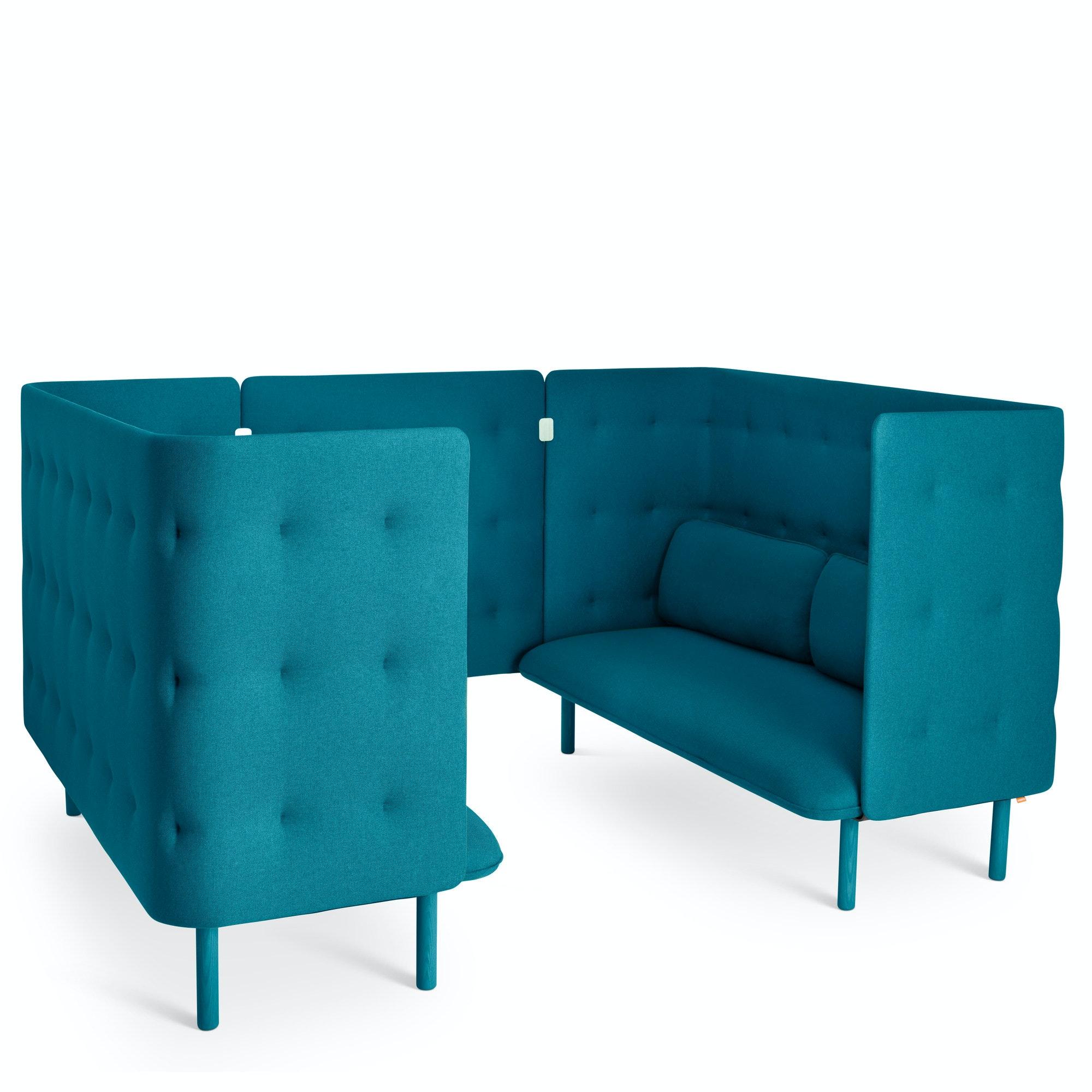 ... Teal QT Sofa Booth,Teal,hi Res
