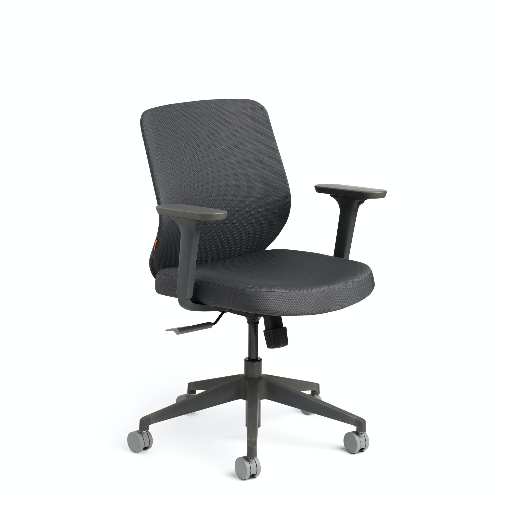 Exceptional ... Dark Gray Max Task Chair, Mid Back, Charcoal Frame,Dark Gray,hi