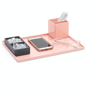Blush Large Slim Tray,Blush,hi-res