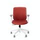 Brick Max Task Chair, Mid Back, White Frame,Brick,hi-res