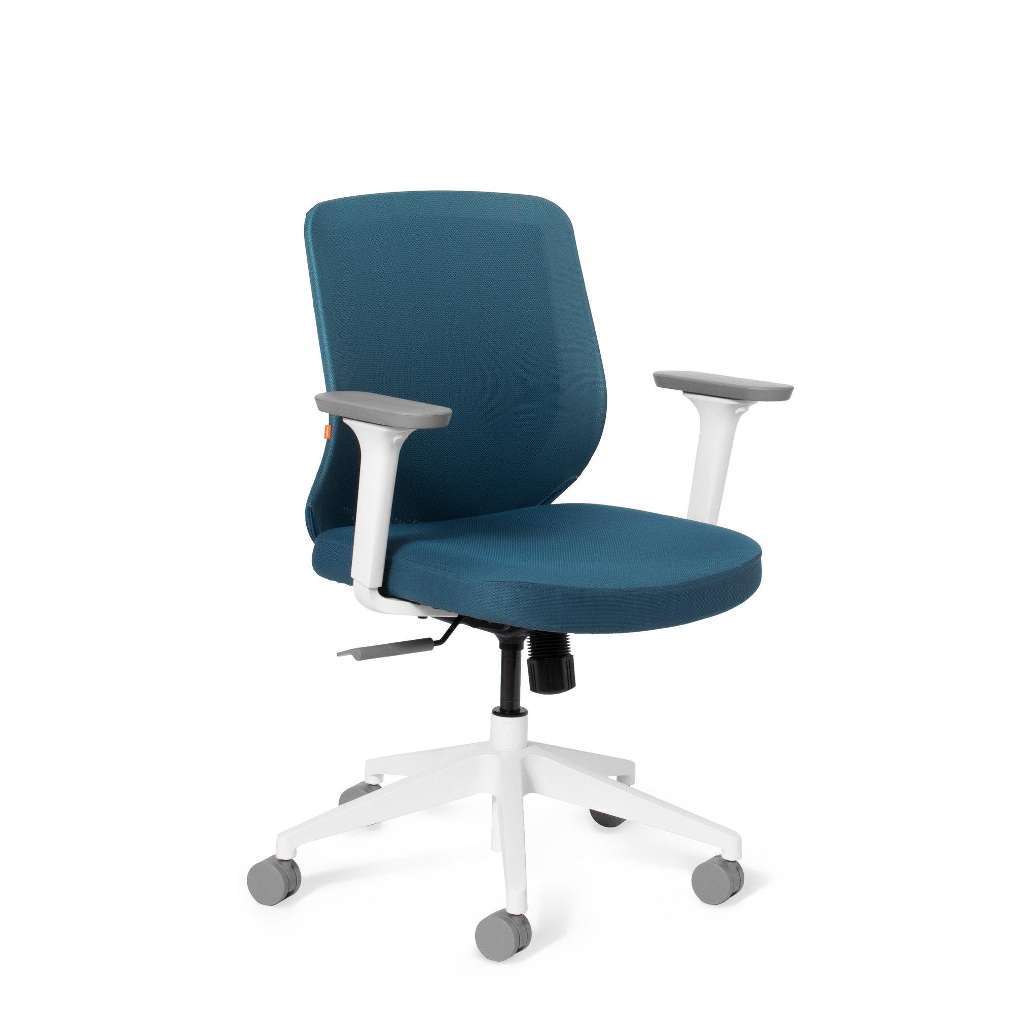 ... Slate Blue Max Task Chair Mid Back White FrameSlate Bluehi  sc 1 st  Poppin & Task u0026 Office Chairs | Modern Office Furniture | Poppin