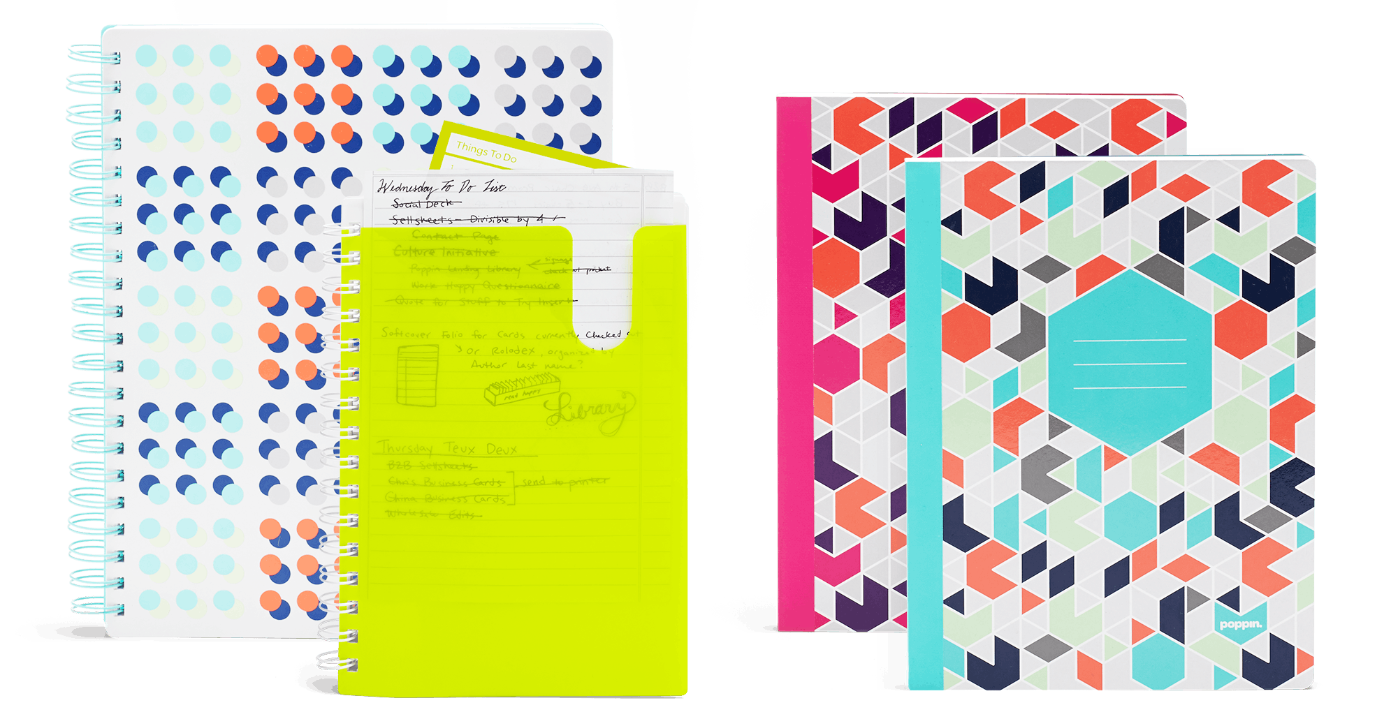 Shop School and Subject Notebooks