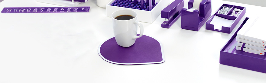 Purple Office Supplies Poppin