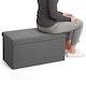 Dark Gray Box Bench,Dark Gray,hi-res