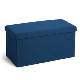 Navy Box Bench