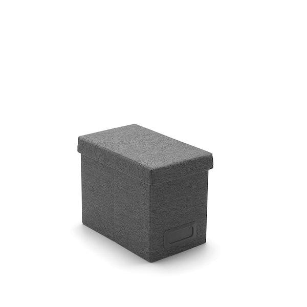 Dark Gray Medium File Box,Dark Gray,hi-res