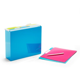 Pool Blue File Box