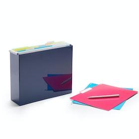 Navy File Box