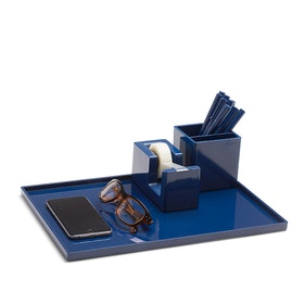 Navy Large Slim Tray