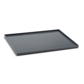 Dark Gray Large Slim Tray,Dark Gray,hi-res