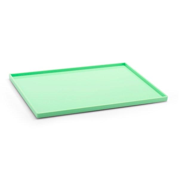 Mint Large Slim Tray,Mint,hi-res
