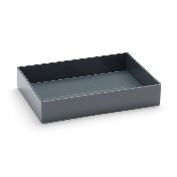 Dark Gray Medium Accessory Tray,Dark Gray,hi-res