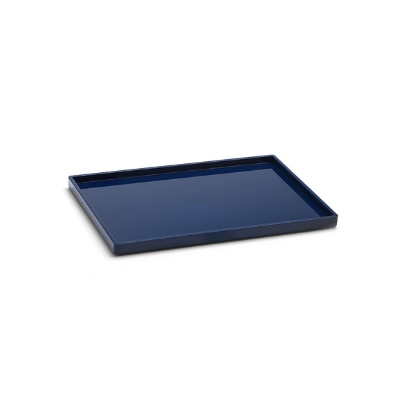 Navy Medium Slim Tray,Navy,hi-res